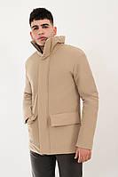 Мужская бежевая весенняя куртка