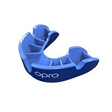 Капа OPRO Silver синяя Подростковая