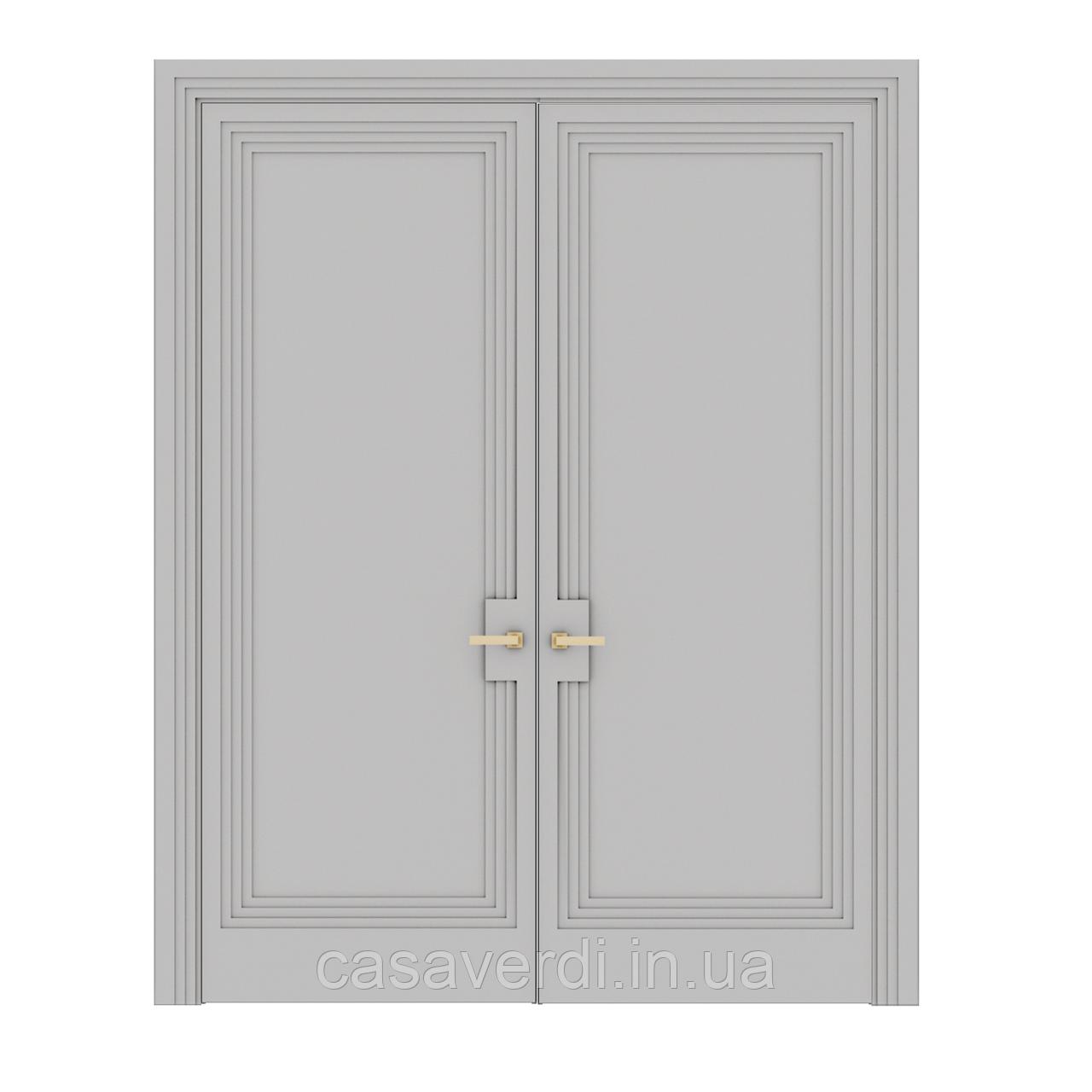 Міжкімнатні двері Casa Verdi Portale 1 МДФ подвійна розпашна