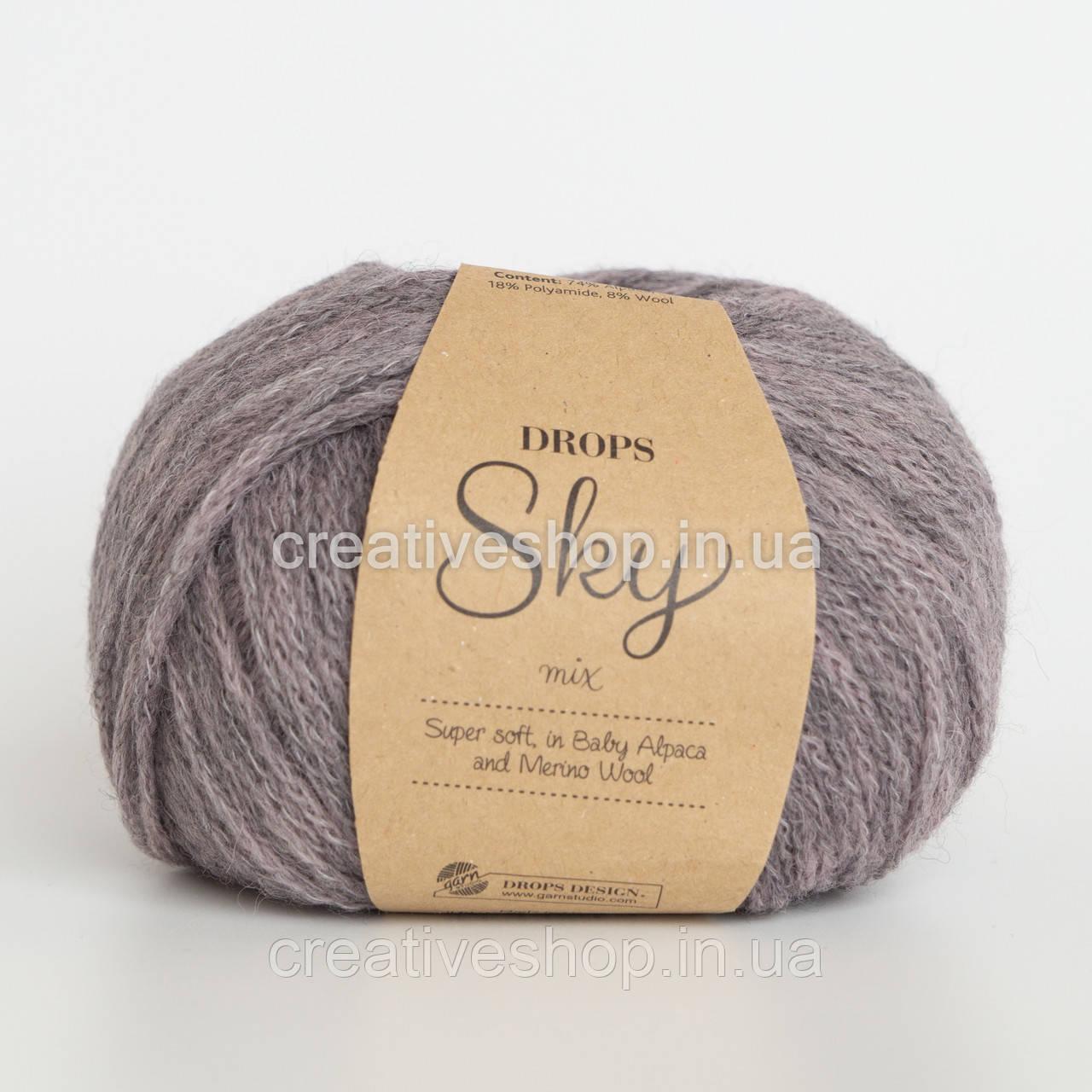 Пряжа Drops Sky Mix (цвет 08 lavender)