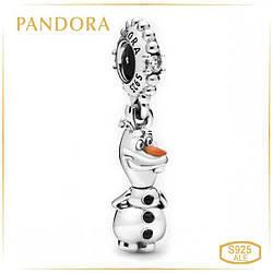 Пандора Шарм Дисней Снеговик Олаф Pandora 798455C01