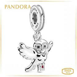 """Пандора Подвеска """"Сова Хедвиг"""" Pandora 799123C01"""