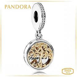 """Пандора Кулон """"Семейные корни"""" Pandora 791988CZ"""