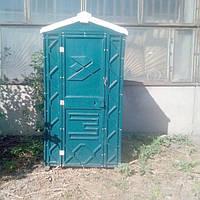 Мобільна туалетна кабіна біотуалет зелений