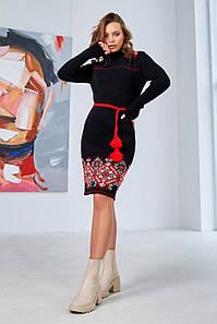 В'язана сукня вишиванка Іванка з орнаментом