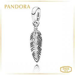 Пандора Кулон Магическое перо Pandora 397216