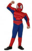 Карнавальный костюм Человек Паук с мышцами Спайдермен