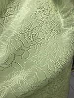 Жакардова салатова тканина на метраж, ширина 1,5 м ( В23 - 19 ), фото 2