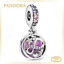 Пандора Шарм подвеска Бесконечность Сердце и Звезды Pandora 798829C01