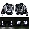 Протитуманні світлодіодні фари (LED) Fog Dodge Ram 1500 2500 3500 13-17