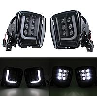 Протитуманні світлодіодні фари (LED) Fog Dodge Ram 1500 2500 3500 13-17, фото 1