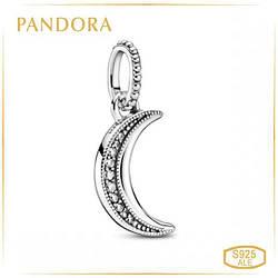 Пандора Кулон Сверкающий полумесяц Pandora 399184C01
