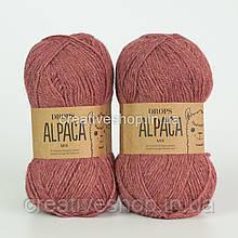 Пряжа Drops Alpaca Mix (колір 9024 old rose)