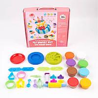 Подарочный набор теста для лепки Jar Melo Мой торт на день Рождения (Пекарня)