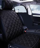 Чехол накидка на 1 сиденье автомобиля Can черный