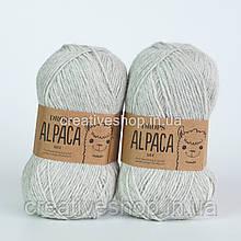 Пряжа Drops Alpaca Mix (колір 9020 light pearl grey)