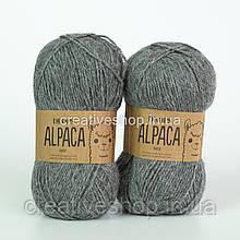 Пряжа Drops Alpaca Mix (колір 517 medium grey)