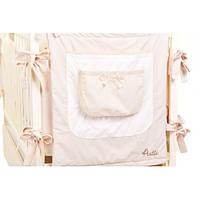 Карман на кроватку Putti Starry Night (бежевый),детское постельное белье