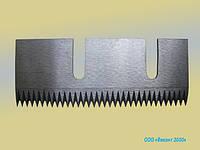 """Ножи зубчатые для """"flow-pack"""" 78х31х1,5 мм. от ФУА """"Эло-Пак"""" Гамма"""