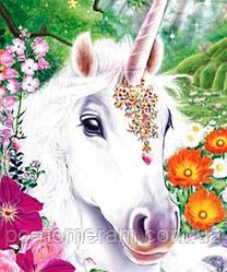 Картина из мозаики Диамантовые ручки Единорог (JA24595) (GU_189068) 21 х 25 см (Без подрамника)