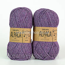 Пряжа Drops Alpaca Mix (цвет 4434 amethyst)