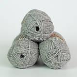 Пряжа Drops Alpaca Mix (цвет  501 light grey), фото 2