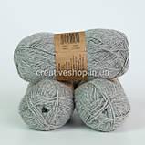 Пряжа Drops Alpaca Mix (цвет  501 light grey), фото 3