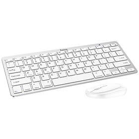 Комплект hoco. DI05 клавиатура + мышь WL White