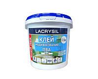 Клей винил-ацетатный LACRYSIL ПВА контактный 0,9кг