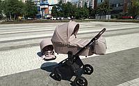 Коляска универсальная для детей. От рождения. Капюшон. Дождевик. CARRELLO Epica CRL-8510/1 (2in1) Almond Beige