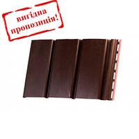 Подшива, софит панель RainWay 300/30000мм (0,9 м2) коричневая