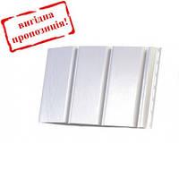 Подшива, софит панель RainWay 300/30000мм (0,9 м2)  белая