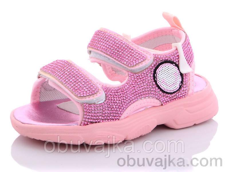 Літнє взуття оптом Босоніжки для дівчинки від виробника Ytop(рр 23-30)