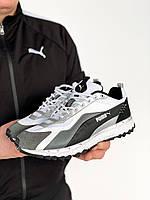 Мужские кроссовки Puma Белые, Реплика