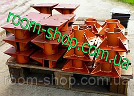 Оголовники для опор, свай 89 мм площадка 250х250 мм. (сваи винтовые, палі), фото 2