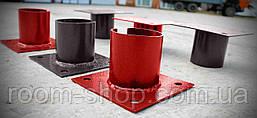 Оголовники для опор, свай 89 мм площадка 250х250 мм. (сваи винтовые, палі), фото 3