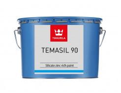 Фарба этилсиликатная 2К А Темасил 90 Tikkurila Temasil 90 сіро-зелена