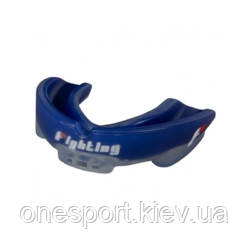 Капа FIGHTING S2 Gel Fury Mouth Guard взрослый синий/серый (код 179-637636)