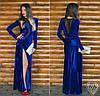 Платье электрик 152040 в пол