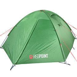 Палатка туристична тримісна Red Point Steady 3 EXT (320х210х120см), зелена