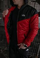 Куртка мужская The North Face весенняя осенняя красная Ветровка мужская демисезонная спортивная ЛЮКС качества