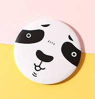 Миле кишенькове дзеркальце №1 Панда, фото 1