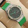 Модные наручные часы Hublot Big Bang AA quartz Green/Silver/Black 1250