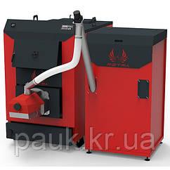 Пеллетный котел 40 кВт Retra Light Combi, стальной бытовой твердотопливный котел