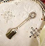 Коллекционная серебряная ложка, Kleinwalsertal, серебро 800 пробы, Австрия, фото 4