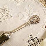 Коллекционная серебряная ложка, Kleinwalsertal, серебро 800 пробы, Австрия, фото 5