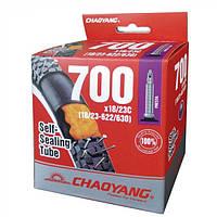 Камера ChaoYang 700 x 18 / 23C FV (48 мм) c антипрокольным гелем