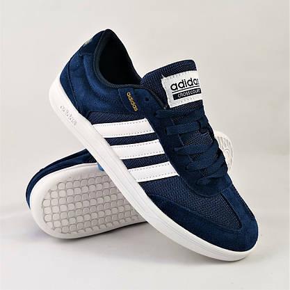 Кроссовки Мужские Adidas Neo Синие Адидас (размеры: 41,43,44,46) Видео Обзор, фото 2