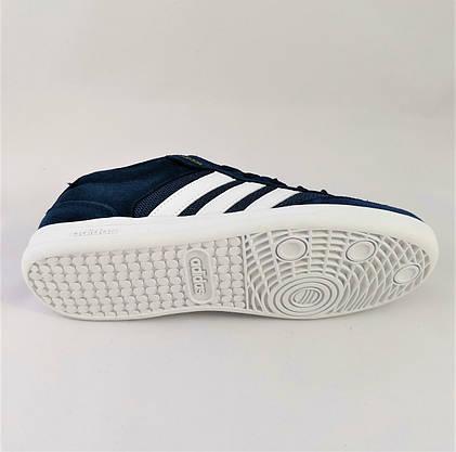 Кроссовки Мужские Adidas Neo Синие Адидас (размеры: 41,43,44,46) Видео Обзор, фото 3
