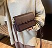 Жіноча сумка через плече Silver Коричнева, фото 3